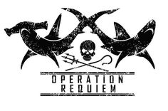 Fabulous logo for Sea Shepherd's Operation Requiem - defending sharks in the South Pacific.