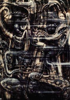 H. R. Giger - Biomechanical Landscape