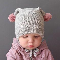 Modèle Bonnet Bébé Bobby Phil Rapido - M - Diy Crafts - maallure Baby Hat Knitting Pattern, Baby Hat Patterns, Baby Hats Knitting, Knitting For Kids, Knitted Hats, Halloween Crochet Patterns, Diy Crafts Knitting, Knit Baby Sweaters, Baby Pullover
