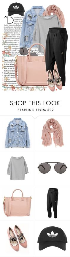"""""""chic and casual"""" by rubystripes ❤ liked on Polyvore featuring Balmain, Mint Velvet, Seafolly, New Balance, Boden and Topshop"""