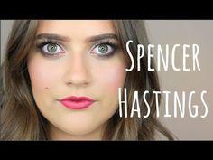 Spencer Hastings makeup tutorial | PLL series | EmmasRectangle - YouTube