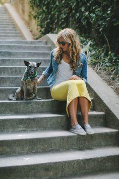 The Samantha Midi-Skirt   Taylor Stitch