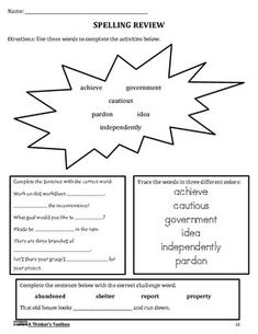 Summer Packet - Incoming 6th Graders by A Thinker's Toolbox #math #writing #reading #vocabulary