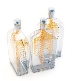 Spine Vodka: Awesome Concept by Johannes Schulz | Inspiration Grid | Design Inspiration