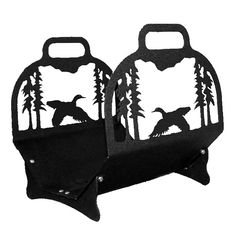 Flying Duck Big Lodge Indoor Firewood Rack