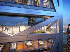 The 181 Fremont Residences in San Francisco Real Estate Articles, Architectural Digest, Design Awards, Innovation Design, Modern Architecture, Skyscraper, San Francisco, Floor Plans, Construction
