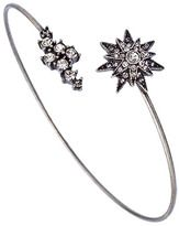LYRALOVESTAR by Crystal Streets Silver Crystal Starburst Bracelet