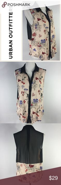 Selling this Urban Outfitters Cooperative Sleeveless Blouse on Poshmark! My username is: dcgirl04. #shopmycloset #poshmark #fashion #shopping #style #forsale #Urban Outfitters #Tops