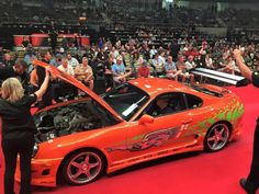 The Legendary Toyota Supra From Fast & Furious Sold For 185K