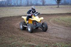 9 ročný Máté z Maďarska na Honde 250 ccm. Celkový víťaz detskej kategórie.