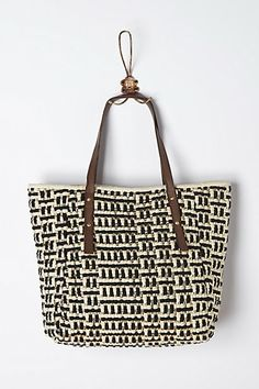 Modern Comforts Tote  Love the gold in this!
