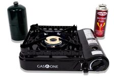 Cheap GAS ONE New Dual Fuel Propane or Butane Portable stove with Brass Burner Head, Dual Spiral Flame BTU Gas Stove with Convenient Carrying Case Most Powerful Heat Output Stove 2017 Model Portable Gas Stove, Best Camping Stove, Propane Cylinder, Cheap Gas, New Stove, Propane Stove, Kitchens
