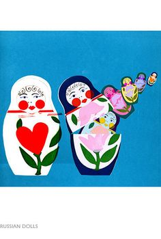 Jenny Bowers: Russian Dolls. (via lbv5000 on flickr). All rights reserved.