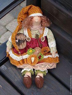 Гномочка (хранительница домашнего уюта) по мотивам Тильда - кукла ручной работы