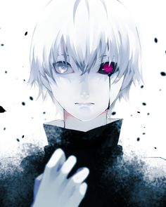 A least this time it's not blood coming out of my eye. Kaneki Ken - Tokyo Ghoul