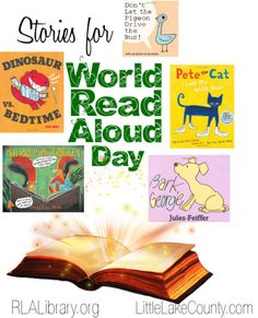 World Read Aloud Day Stories curated by @roundlakelib