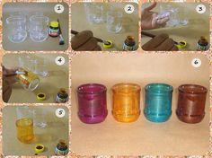 Quem não tem improvisa | DIY: Como pintar vidros.