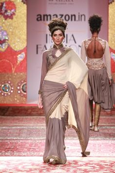 JJ Valaya. AIFW A/W 15'. Indian Couture.