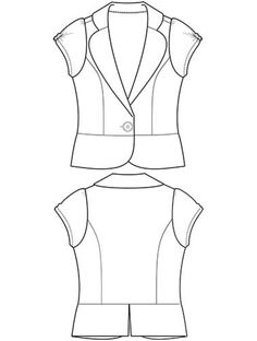 Directory of Flat Fashion Sketch