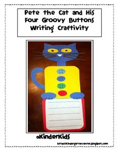 Pete the Cat Craftivity