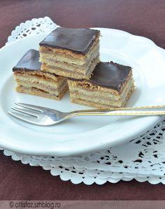 Gesztenyés zserbó Hungarian Food, Hungarian Recipes, Poppy Cake, Nutella, Cheesecake, Muffin, Food And Drink, Hungary, Kuchen