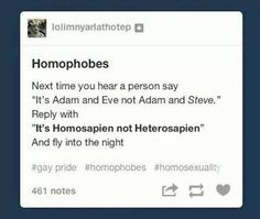 Or: well you should Adam and leave