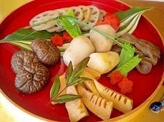 """Traditional New Year's boiled food(Osechi)"" - japanese recipe/おせち料理・お煮しめ"