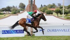 HIGHLY DECORATED scored by daylight at Durbanville today in a handicap under Richard Fourie. Home-bred filly is on the road to the Cape Guineas, a South African classic.