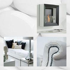 woonjournaal White Satin, Oversized Mirror, Furniture, Ideas, Home Decor, Art, Art Background, Decoration Home, Room Decor