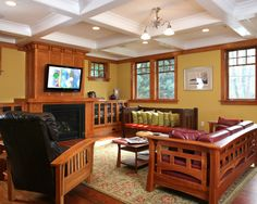 Show Joe this ceiling  Craftsman Style Design, Pictures, Remodel, Decor and Ideas - page 3