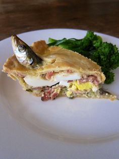 STARGAZY PIE (Adapted from Saveur)