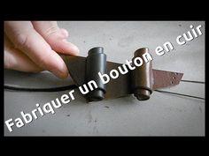 Comment fabriquer un bouton en cuir