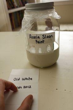 preserving annie sloan paint