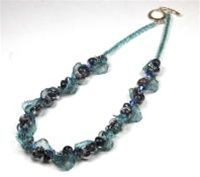 beads with wire lace