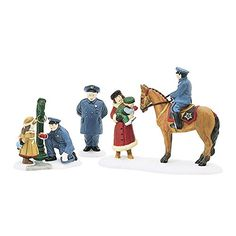 """Dept 56 Christmas in the City """"To Protect and to Serve"""" 58902 *** Check out the image by visiting the link."""