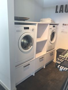 87 outstanding basement laundry rooms decoration models - Laundry Down Underneath - 10 Straightforward Strategies to Update Basement Laundry Rooms Does your basement laundry room feel like a dungeon? Modern Laundry Rooms, Laundry Room Layouts, Laundry Room Remodel, Basement Laundry, Laundry Closet, Laundry Room Organization, Small Laundry, Laundry Room Design, Garage Laundry