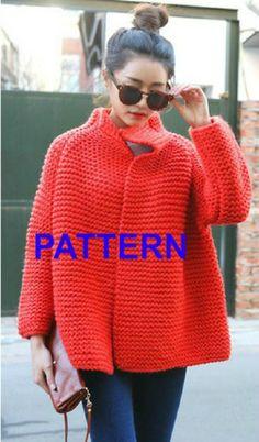 PATTERN giacca rosso Cina Il pattern viene fornito in file PDF per la taglia 42 completo delle istruzioni per adattarlo alle altre taglie