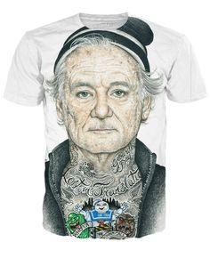 Inked Bill Murray T-Shirt