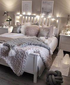 Cute Bedroom Decor, Room Design Bedroom, Stylish Bedroom, Small Room Bedroom, Room Ideas Bedroom, Master Bedroom, Cozy Bedroom, Bedroom Inspo, Dream Bedroom