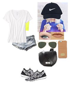 """A girl can never have to much nike"" by cardigansand-fanfiction ❤ liked on Polyvore"