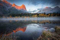 Hai Ling Peak Canmore Alberta Canada :)