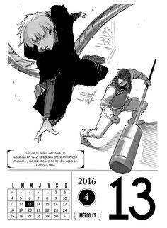Página 15 :: Tokyo Ghoul Calendario 2016 :: Capítulo 4 :: MangaWorks Reader
