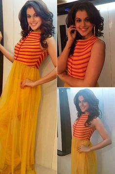 Top Indian fashion and lifestyle blog: Taapsee Pannu in SVA couture