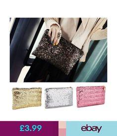 Women's Bags & Handbags Sparkly Crystal Clutch Evening Bag Wedding Bridesmaid Fashion Handbag Glitter Uk #ebay #Fashion