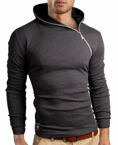 Grin&Bear Men's zipped Long Sleeve Hoodie, charcoal, S, BH135 Grin&Bear,http://www.amazon.com/dp/B00FSD13RI/ref=cm_sw_r_pi_dp_Madmtb1D1SRAX7TY