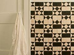 Commitment-Free Backsplash - Adhesive Tile