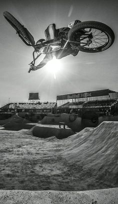 Sun block: Taking on gravity at Red Bull Dirt Conquers in Guadalajara, Mexico. http://win.gs/1junsMt Image: Fabio Piva #dirtconquers #bike #bmx