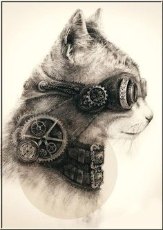 Cool drawing, future cat