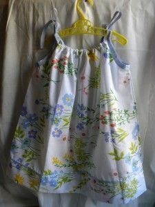 How To Make Easy Pillowcase Dresses & Summer jammies from thrifted sheets! #DIY | Women\u0027s Fashion ... pillowsntoast.com