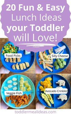 Easy Toddler Lunches, Picky Toddler Meals, Toddler Games, Healthy Meals For Kids, Toddler Food, Kids Meals, Food Ideas For Toddlers, Lunch Ideas, Meal Ideas
